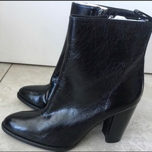 Zara leather boots NWT